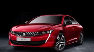 Peugeot 508 leaked - front