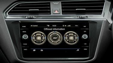 Volkswagen Tiguan Allspace - off-road stats