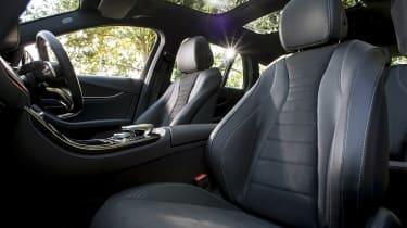 Mercedes E 400 d Estate - front seats