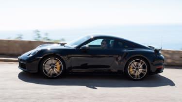 Porsche 911 Turbo prototype - side