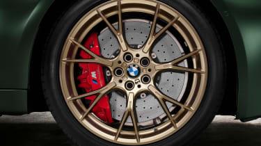 BMW M5 CS - studio wheel detail