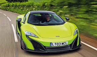 McLaren 675LT - front action