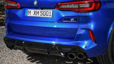 BMW X5 Competition - exhausts