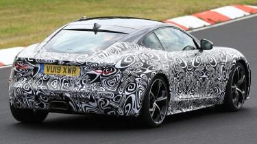 Jaguar F-Type - spied - rear cornering
