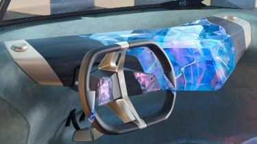 BMW i Vision Circular concept - steering wheel
