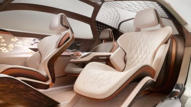 Bentley EXP 100 GT concept - seats