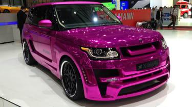 Pink Hamann Range Rover