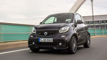 Smart ForTwo Brabus 2016 - front tracking 4