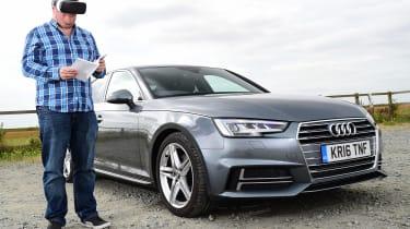 Audi A4 long-term test - second report header