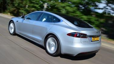 Tesla Model S 75D - rear