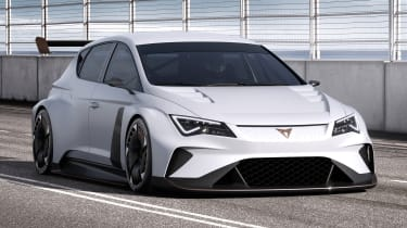 Cupra Leon e-Racer concept - front