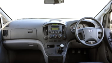 The cab is well-equipped and is a very relaxing environment to be in.