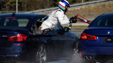 BMW drift record - refuelling