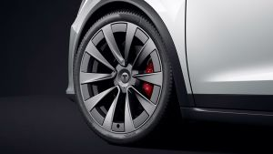 Tesla Model X facelift - wheel