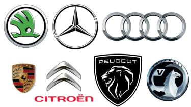 Car badges header