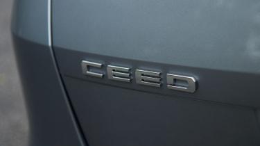 Kia Ceed SW - Ceed badge