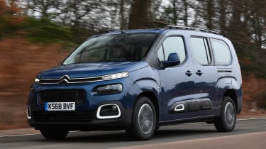 citroen berlingo xl tracking front