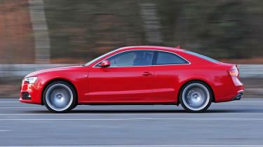 Audi A5 2.0 TFSI Coupe panning