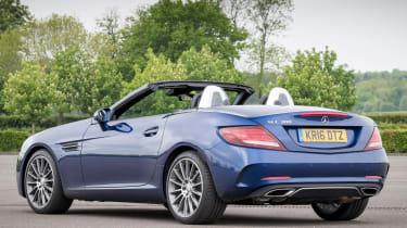 Used Mercedes SLC - rear