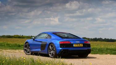 Audi R8 - rear static