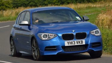 BMW M125i - cornering