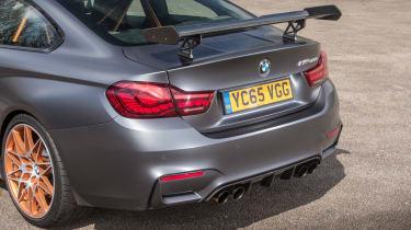 BMW M4 GTS UK 2016 - rear detail