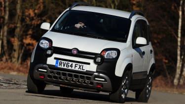 Fiat Panda Cross - front action