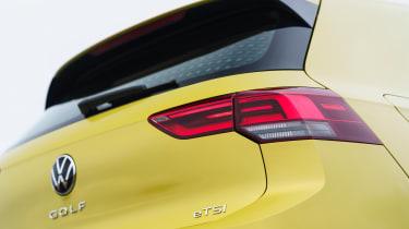 Volkswagen Golf eTSI drive - brake light