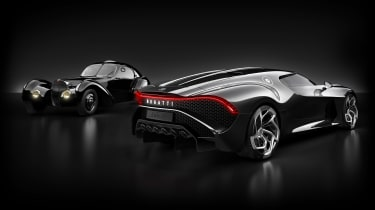 Bugatti La Voiture Noire / Atlantic
