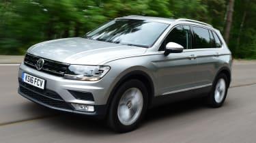 Volkswagen Tiguan 2016 - front tracking