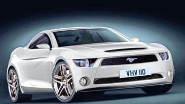 New Ford Mustang rendering