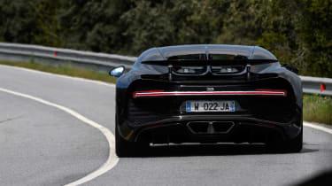 Bugatti Chiron - rear cornering
