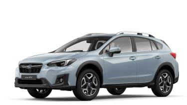 Subaru XV revealed in Geneva front