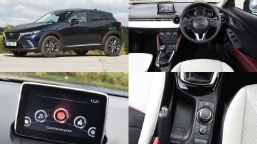 Mazda MZD Connect infotainment system - test car: Mazda CX-3