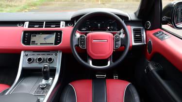 Range Rover Sport SVR - interior