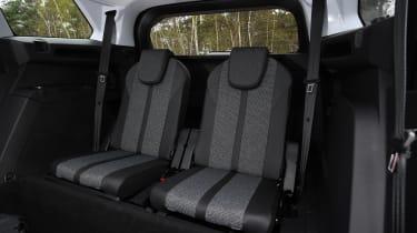 5008 rear seats
