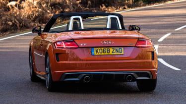 Audi TT Roadster - rear cornering