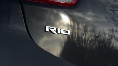 Kia Rio facelift - Rio badge