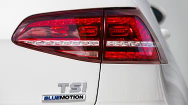 VW Golf BlueMotion 1.0 TSI light
