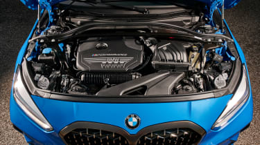 BMW M135i 2019 engine