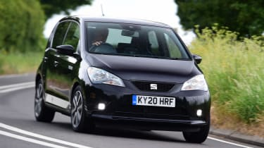 SEAT Mii electric UK - front driving