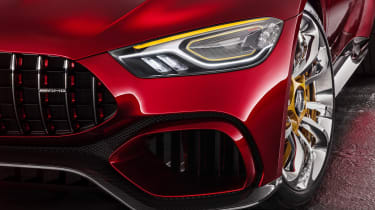 Mercedes-AMG GT Concept - front detail