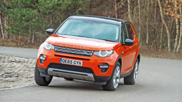 Land Rover Discovery Sport long-term - fifth report front