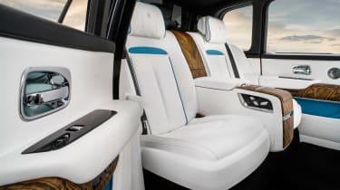 Rolls-Royce Cullinan SUV - rear seats