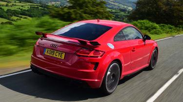 Audi TT RS - rear tracking