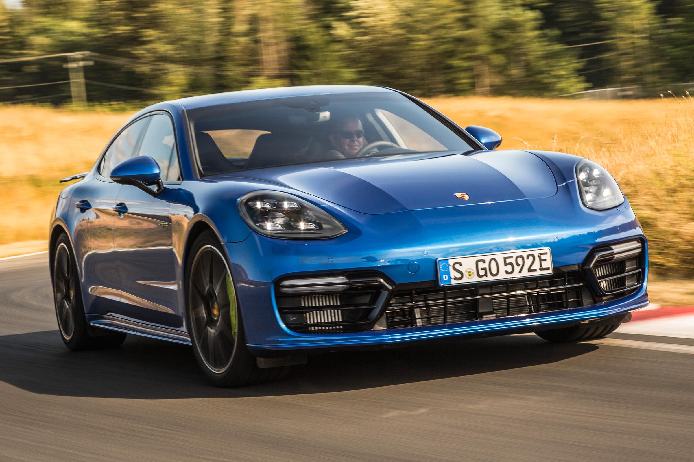 New Porsche Panamera Turbo S E Hybrid 2017 Review Auto Express