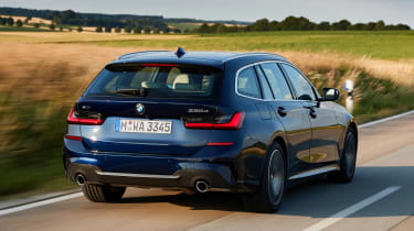 BMW 3 Series Touring - rear tracking