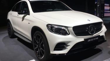 Mercedes-AMG GLC 43 Coupe - Paris front quarter