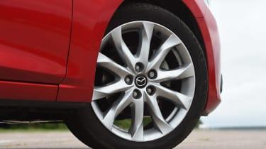 Mazda 3 - wheel detail