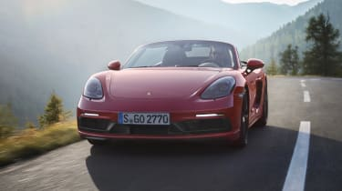 Porsche Boxster 718 GTS - front